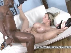 Picture Mature slut Sara Jay gets pounded with some...