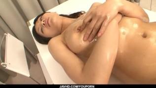 Sensual pussy solo along bustyRyo Sasaki