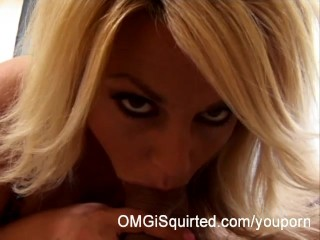Sindy Lange gets fucked until she squirts
