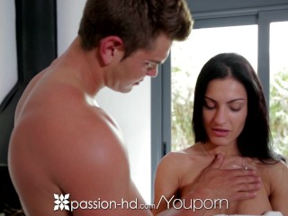 Passion-HD - Honey Demon is ready for a good passionate rubdown