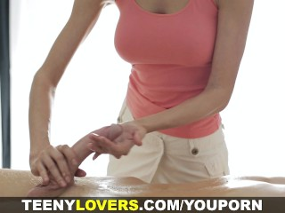 Teeny Lovers - Massage with big happy ending
