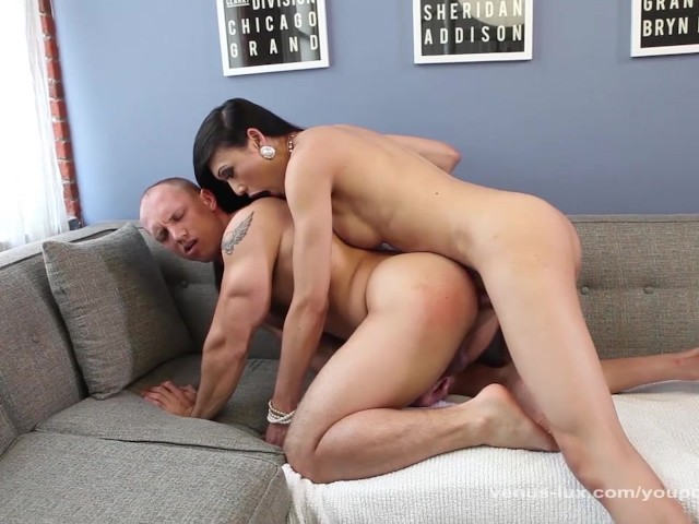 Asian Ladyboy Gets Blowjob