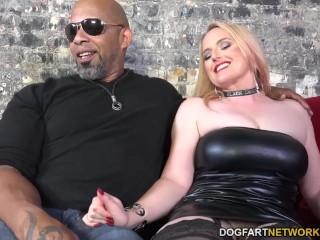 Harmoni Kalifornia Takes A Big Black Cock In Front Of A Cuckold