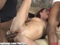 Picture Cici Rhodes gets Anal Creampie and 3 BBCs