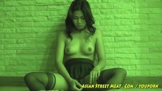 Asian Street Meat XXX  Fresh Clean Thai Girl With Jiggly Titties