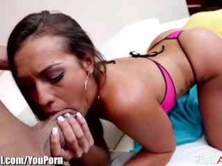 EvilAngel Kelsi Monroe Anal Riding Big Cock