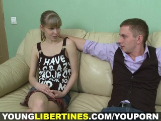 Young Libertines - Fucking young wife after work