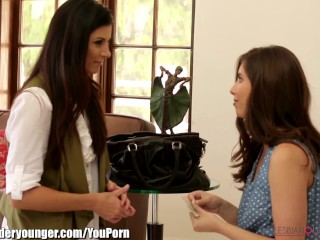 India Summer and Casey Calvert Trib and Lick Pussy