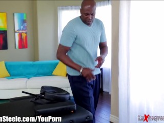 Big Titty MILF takes on 1Foot Black Cock
