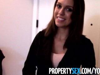 PropertySex - Highly motivated realtor uses sex to get new client