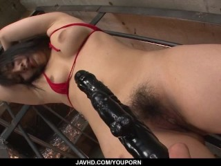 Sturdy domination sex videos scenes with insolent Chiharu