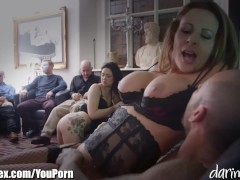 Picture British MILF Fucked in Front of a Room of Ma...