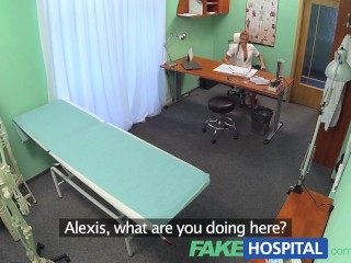 FakeHospital Hot nurse seduces and fucks her old college professor