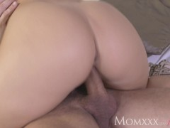 Picture MOM After oil massage and ass licking she gi...