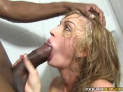 Picture Alana Rains first Interracial Anal Scene