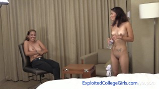 Latina Amateur Fucked n Facialed, Busty Friend Watches