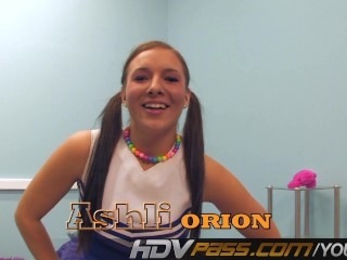Teen Ashli Orion Playing With Herself