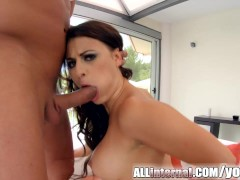 Picture AllInternal Cum filled Billie Star in steamy...