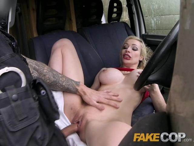 Big Tits Lesbian Fake Taxi
