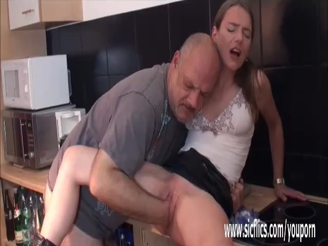 Hot Teen Creampied Old Man