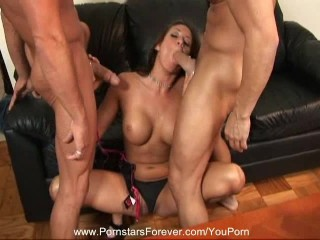 Emmys First 3some With Dvp Youporn Red