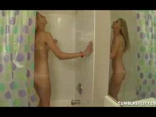He Enters Her Bathroom With His Erect Cock