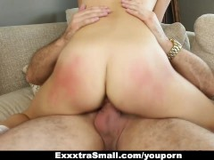 Picture ExxxtraSmall - Sexy Petite 20y-Girls Fucks D...