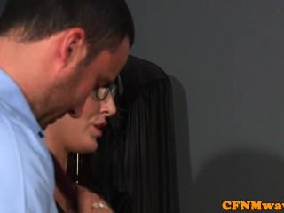 English/for girls education sex cfnm
