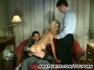 Amateur anal group sex with facial shots