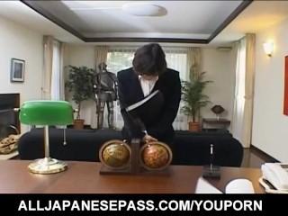 Japanese/anno sucks shirt hard penis