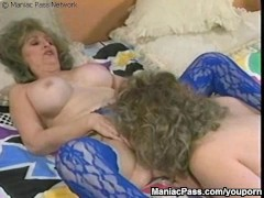 Picture Dildo-sharing old busty sluts