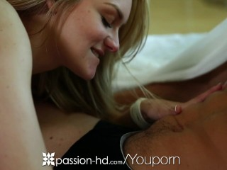 Passion-HD - Allie Rae plays kinky sex games with Johnny