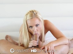 Picture FantasyHD - Staci Carr plays with her soakin...