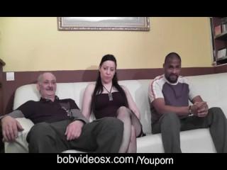 Porn video of a brunette pornstar very hard