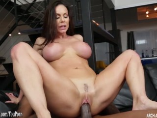 Kendra Lust fucked by monster black cock until it cums
