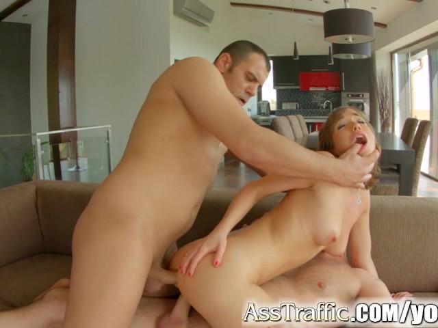 Amateur Threesome Mmf Anal