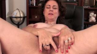 Hairy Wife Gianna Jones On Desk