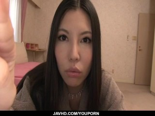 Sofia Takigawa, big tits angel, rides cock with pleasure
