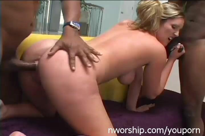 Interracial blond porn pics