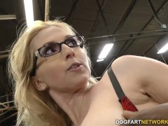 Picture Busty blonde Christie Stevens gets anal from...
