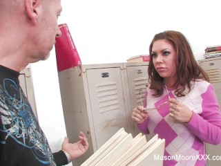 Professor Big Dick Fucks Mason Moore
