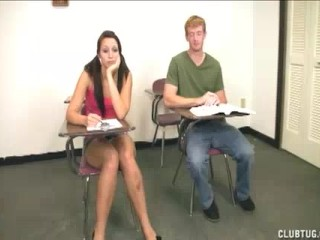 Teen Slut Coaxes This Guy To Whip Out His Rod For Her