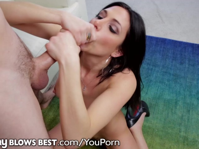 Penis Head Massage Cumshot