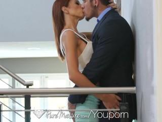 PureMature - Eva Long gets her ass pounded by businessman boyfriend