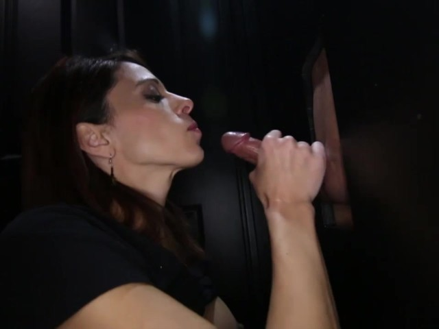 Glory Hole Massive Cumshot