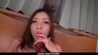Perfect Japanese POV oral with Maki Mizusawa