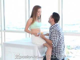 Passion-HD - Marissa Mae does her best slow and wet blowjob on her man