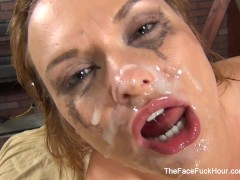 Picture Katja Kassin gets face fucked
