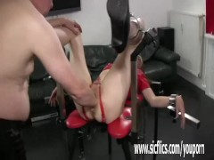 Picture Old pervert fisting her Young Girl 18+ pussy...