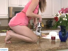 Picture Shae Snow Masturbates On Counter
